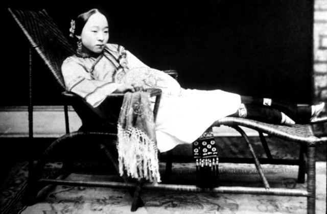 Quing Woman with Bound Feet
