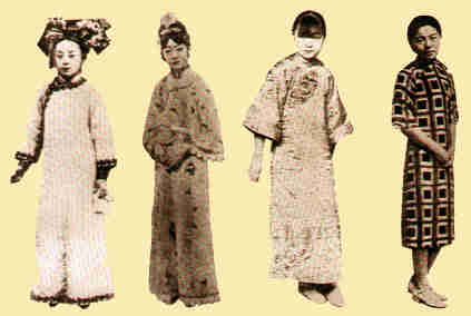 Women's Chinese Styles Through the Ages